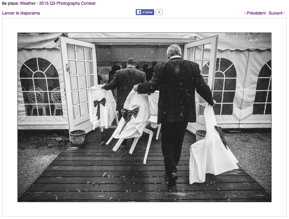 award wpja wedding photographer paris